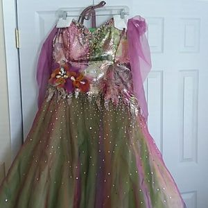 Prom dress or pageant or amazing Halloween costume
